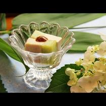 ごま豆腐×枝豆豆腐は甘めのお味噌で・・・