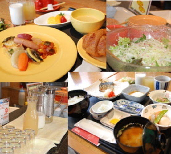朝食(朝6:30〜9:30)