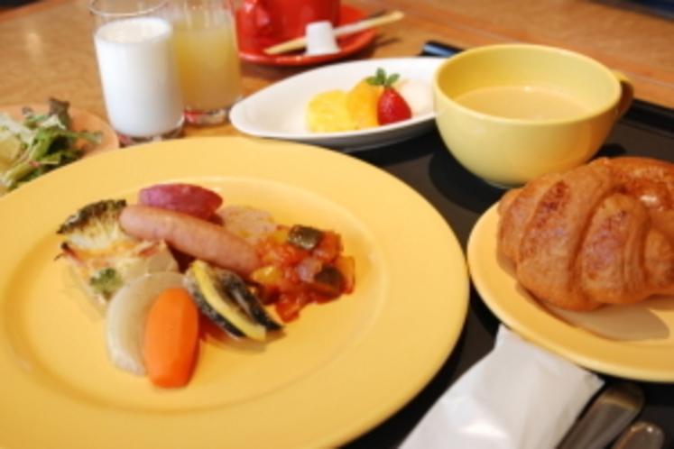 ブロッサムホテルの朝食(洋食)