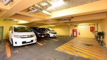 【ホテル専用駐車場】660円(税込)/泊 ※当日の先着4台まで・高さ2m制限あり。
