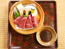 えらべるメイン料理-和牛陶板焼き-