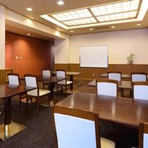 【会議室】宿泊者限定特典として、無料会議室としてご利用頂けます。各種ミーティング等にご利用下さい。