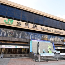 【JR盛岡駅】東北の北の玄関口「盛岡」へようこそ。冷麺・じゃじゃ麺・わんこそば等ご当地グルメ満載
