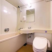【バスルーム】清潔感溢れるバスルーム