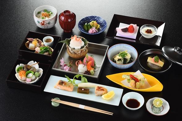 夕食【会席紫コース】・和朝食付きお得なセットプラン