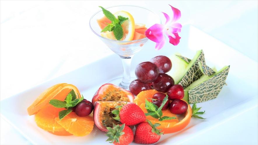 フルーツの盛合せ(有料)