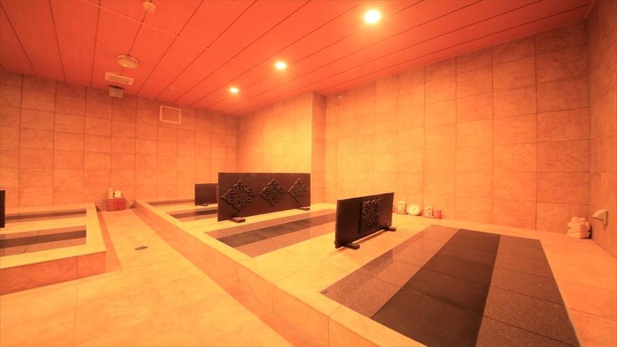 岩盤浴(有料)別館ロンボック地下1階