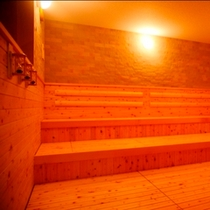 【サウナ】キレイにリニューアルされた大浴場にはサウナもあります!気軽にいい汗かくにはやっぱりサウナ♪