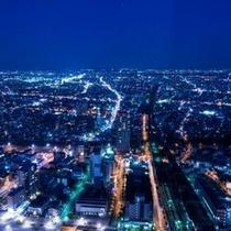 *東側客室から見る夜景*