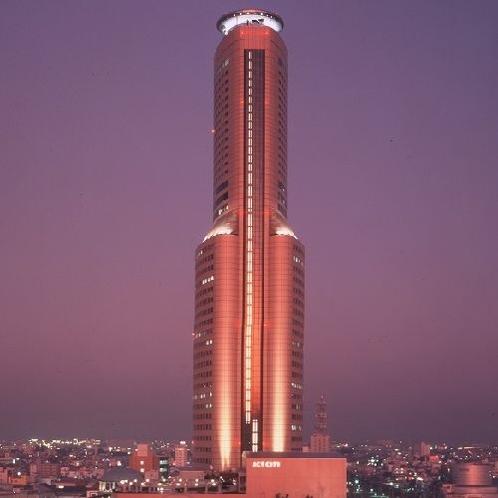 夜のアクトタワー
