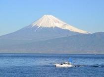 外海からの富士山