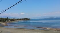 浜辺の様子4月 潮干狩りに最適な日