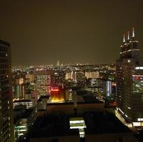 客室からの景観(夜)