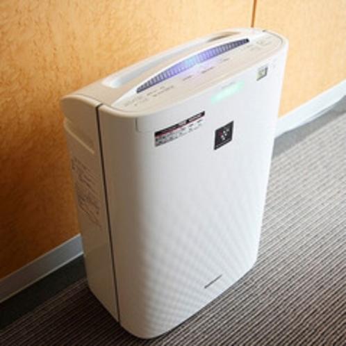 ◆全室に加湿機能付き空気清浄機を完備◆