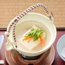 朝食の豆乳豆腐鍋