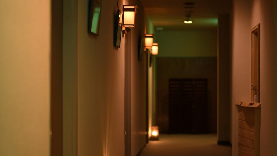 【館内施設】廊下