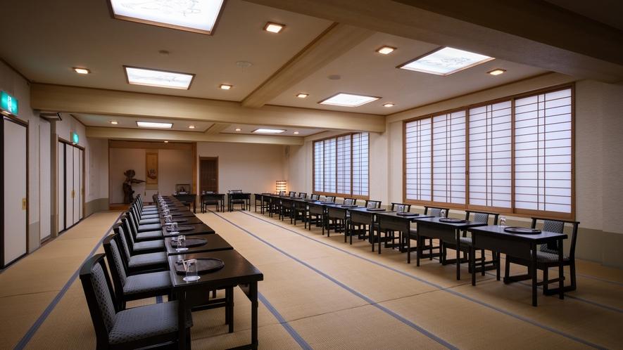 【館内施設】広間 朝食会場にもなります。