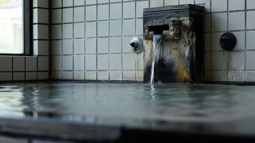 加水も加熱もしない、源泉100%かけ流しです。