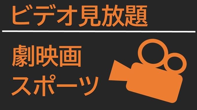 〇【ビデオ見放題】お部屋で14時〜チェックアウトまでお楽しみください