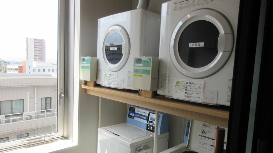 洗濯機・乾燥機(3階、6階)
