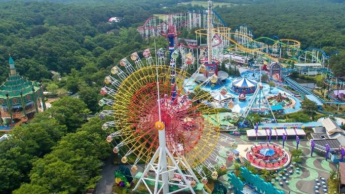 <那須ハイランドパーク【ファンタジーパス】付>北関東最大級の遊園地<「万里」中華&和食バイキング>