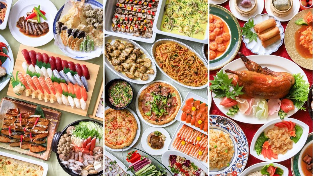 ◇各レストランにて異なる和食・洋食・中華バイキング!(イメージ)