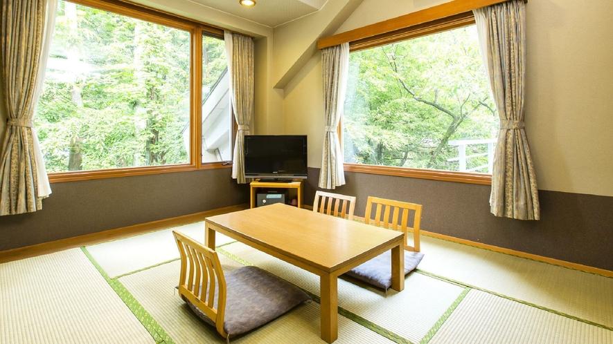 ◇【ガーデンスウィート】和室(一例)/2~3名のご利用できるゆったり過ごせる和室