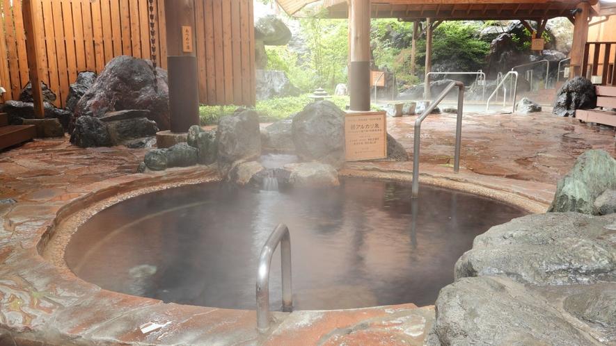 ◇本館<湯遊天国>北関東最大級の温泉リゾート。3つの泉質で贅沢なひと時を