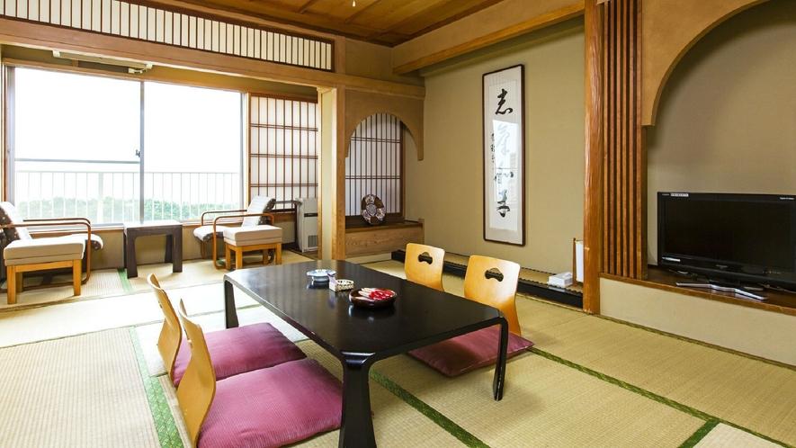 ◇【本館】10畳(一例)/ご家族やご年配のお客様に人気の本館和室