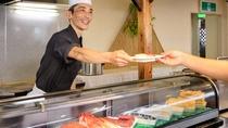 ◇本館レストラン<スカイホール>職人が握るお寿司【ライブクッキング】