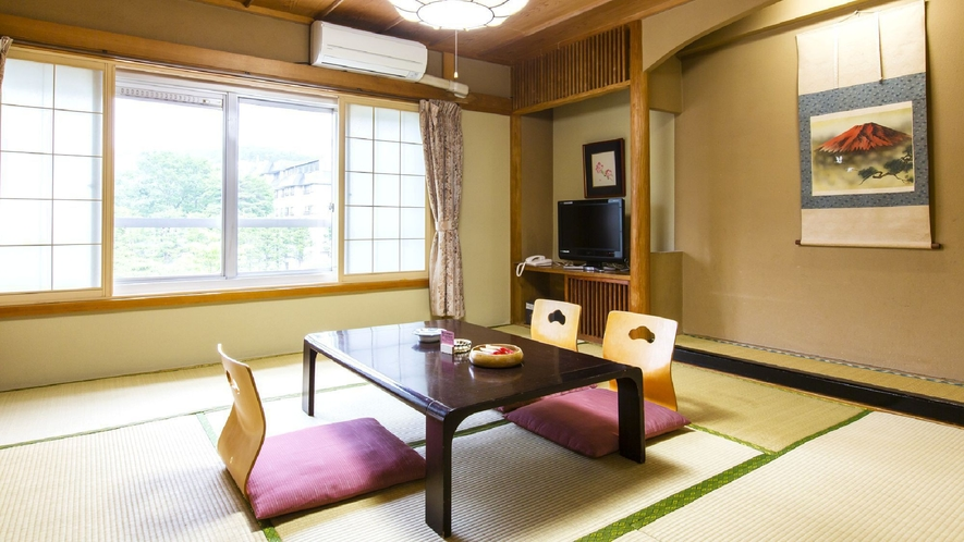 ◇【本館】8畳(一例)/ご家族やご年配のお客様に人気の本館和室