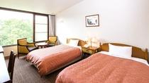 ◇【オリエンタルガーデン】ツインルーム(一例)/中庭のプールを中心に配置されたお部屋