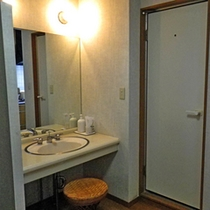 *【部屋設備】洗面台/全てのお部屋に設置されています。