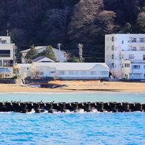 *【外観】浜辺に足を伸ばして海の風を感じてみてはいかがでしょう。