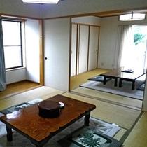 *【部屋】和室16畳*A/B/10名様までお寛ぎいただける純和風のお部屋です。