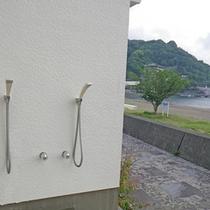 *【施設設備】温水シャワー/海で遊んだ後も、シャワーがあるから安心。