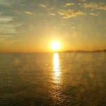 *【絶景の夕陽】心洗われるひと時をお過ごし下さい。