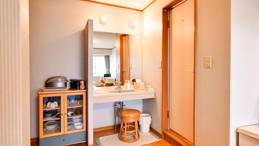 *【部屋/洋室ツイン】洗面所・トイレはセパレートです。