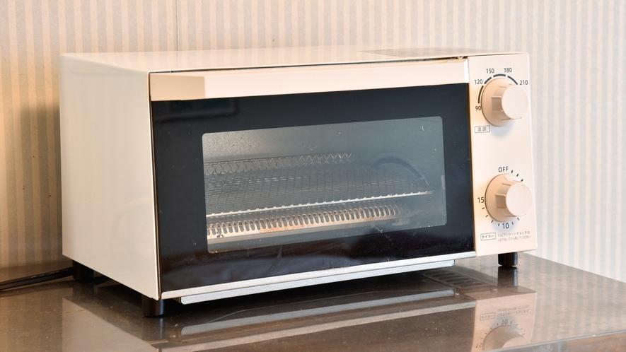 *【部屋】電子レンジ・ガスコンロ・トースターがお部屋にありますので長期滞在にも最適です。