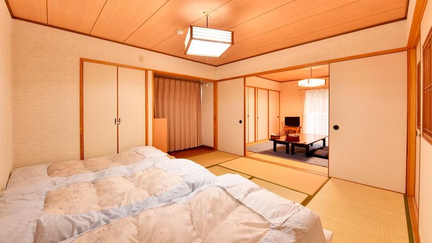 *【部屋/和室16畳】広々としたお部屋でグループ・ファミリーに最適です。