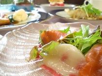 dinner(ホタテサラダ)