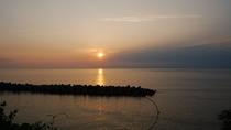*【景色】海から昇る朝日がご覧いただけます。