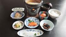 *【朝食一例】身体に優しい和食膳をご用意致します。