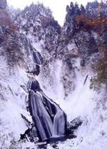 羽衣の滝 冬