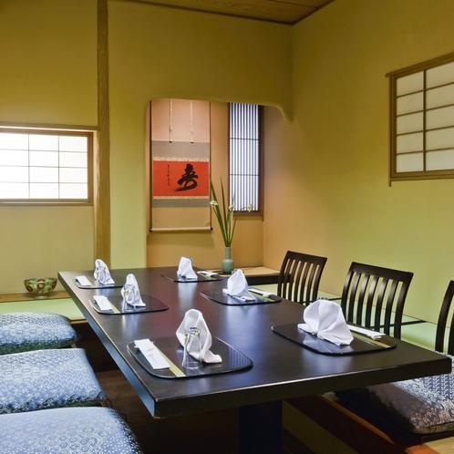【レストラン】5階四季(和食)/掘りごたつの個室