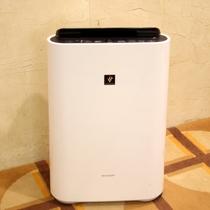 【客室備品】加湿機能付き空気清浄器