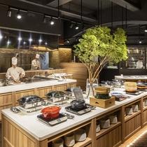 【NEW】和食・洋食・中華のブッフェスタイルでご用意!※写真のお料理はイメージです