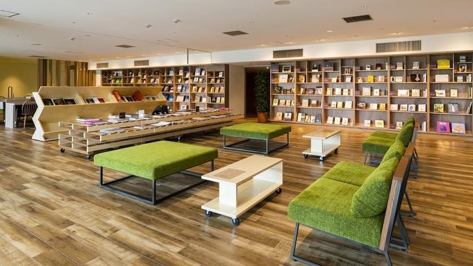 【Library&Cafeブランチ付】たくさんの書物に囲まれながらブランチを楽しむ/ビュッフェ