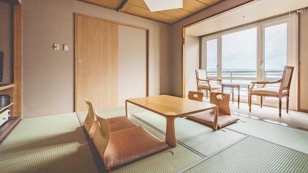 【湖側】和室8〜10畳/ユニットバス付/2〜5名【禁煙】