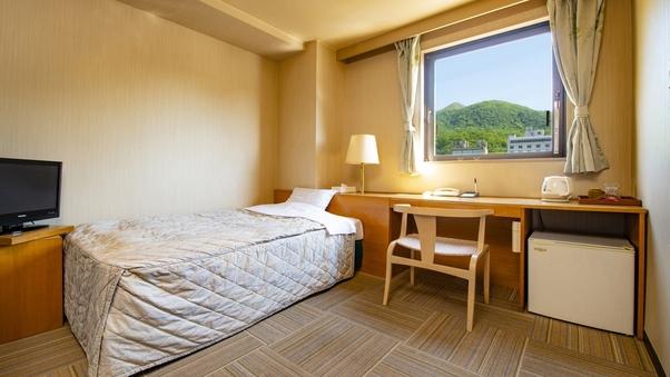 【山側】シングルルーム/16平米/ユニットバス付【禁煙】